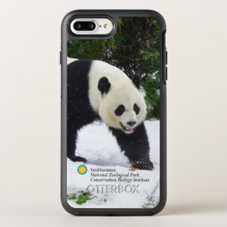 Pandas géants de Smithsonien | dans la neige Coque OtterBox Symmetry iPhone 8 Plus/7 Plus