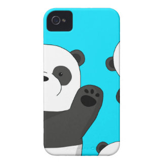 Pandas mignons coque Case-Mate iPhone 4