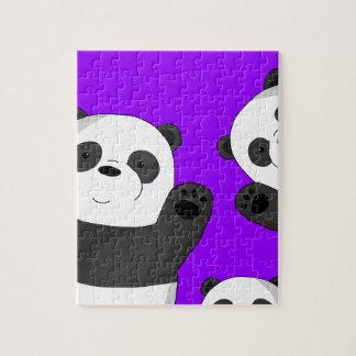 Pandas mignons puzzle