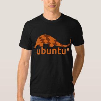 pangolin précis de l'ubuntu 12,04 t-shirts