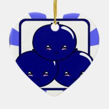 Panier de myrtille de Kawaii (garçon) Décorations Pour Sapins De Noël