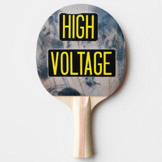 Panneau d'avertissement à haute tension - DRÔLE Raquette Tennis De Table