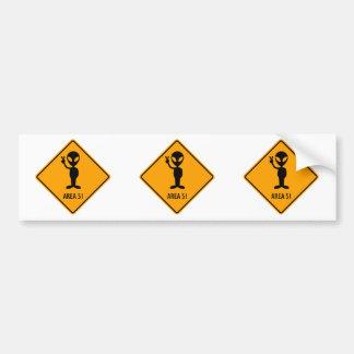 Panneau d'avertissement jaune de diamant de autocollant de voiture