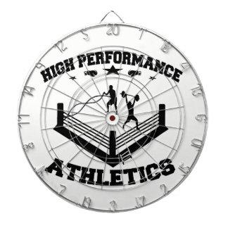 Panneau de dard d'athlétisme de haute performance cibles de fléchettes