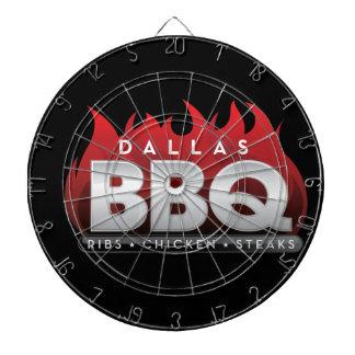 Panneau de dard de BBQ ProfiledInk de Dallas Jeu De Fléchettes