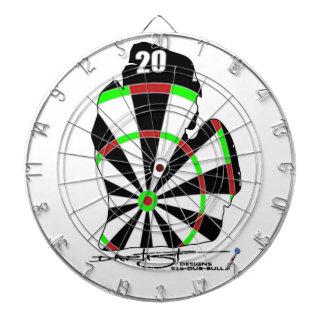 Panneau de dard de Dartist Michigan Jeux De Fléchettes