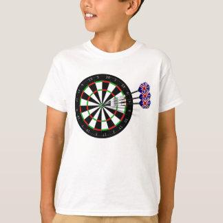 Panneau de dard et dards t-shirt