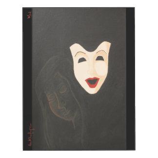 Panneau de mur du masque 11x14