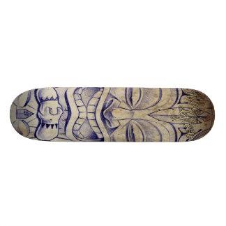 Panneau de tatouage de TIKI Skateboards