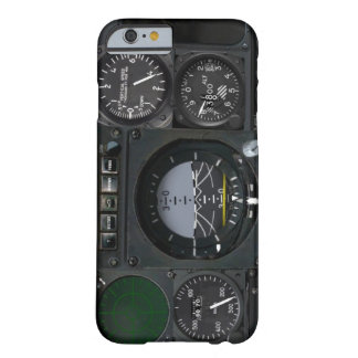 Panneau d'instrument d'avion coque iPhone 6 barely there