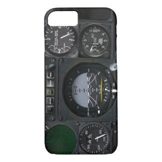 Panneau d'instrument d'avion coque iPhone 7