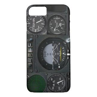 Panneau d'instrument d'avion coque iPhone 7