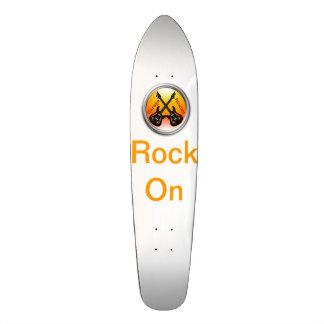 Panneau fait sur commande de patin de musiciens de skateboard customisable