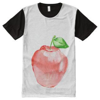 Panneau imprimé américain de l'habillement des t-shirt tout imprimé