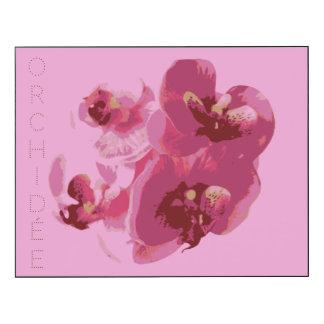 Panneau mural Orchidée