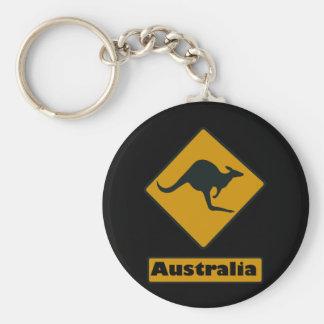 Panneau routier de l'Australie - croisement de kan Porte-clés