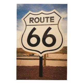 Panneau routier de l'itinéraire 66, Arizona