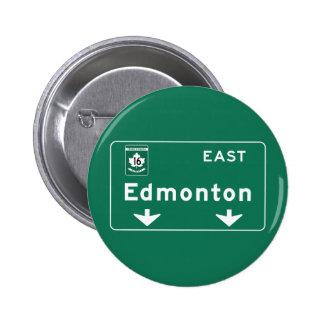 Panneau routier d'Edmonton, Canada Badges