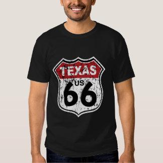 Panneau routier historique de route t-shirts