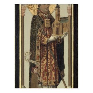 Panneau votif dépeignant St Ansgar, 1457 Carte Postale