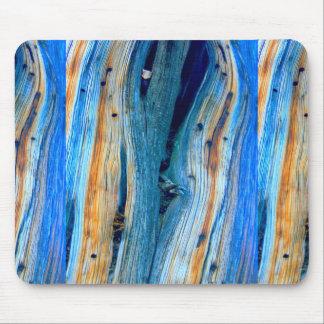 panneaux bleus patinés de grange tapis de souris