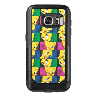 Panneaux comiques de Tweety Coque OtterBox Samsung Galaxy S7