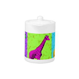 Panneaux de marche de girafe d'art de bruit