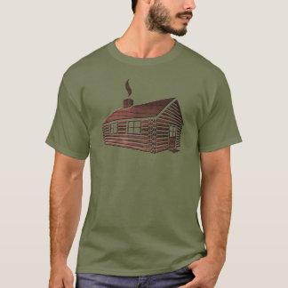 Panneaux du cabine de rondin | t-shirt