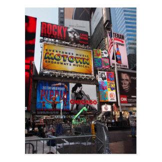 Panneaux-réclame carrés de New York Times Cartes Postales