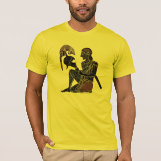 Panoplie - séance de soldat de hoplite du grec t-shirt