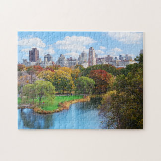 Panorama de Central Park de New York City Puzzle