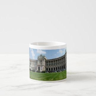 Panorama de Hofburg Tasse Expresso