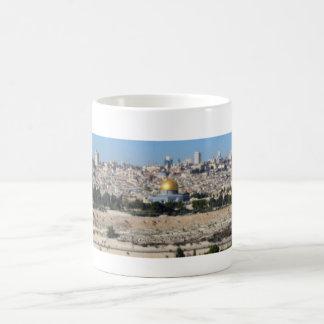 Panorama de Jérusalem du mont des Oliviers Mug
