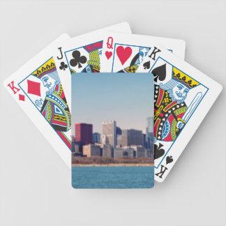 Panorama de l'horizon de Chicago Jeu De Poker