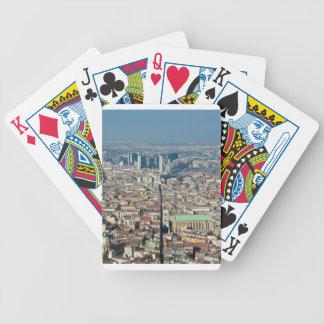 Panorama de Naples Cartes À Jouer