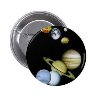 Panorama de planète badge