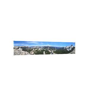 Panorama de prés de Tuolumne de dôme de Fairview - Toile