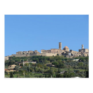 Panorama du village de Volterra, province de Pise Carte Postale
