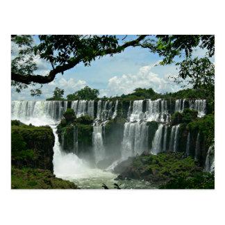 Panoramique des chutes d'Iguaçu Carte Postale