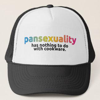 """""""Pansexuality n'a rien à faire avec le casquette"""