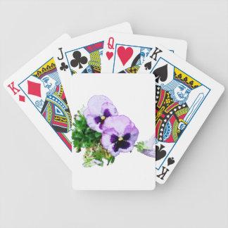 pansy16watercolor1-15 jeu de poker