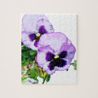 pansy16watercolor1-15 puzzle