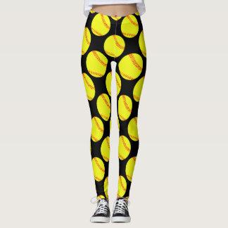 Pantalon de compression de joueur de base-ball de leggings