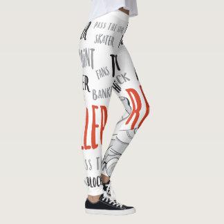 Pantalon de Derby de rouleau Leggings