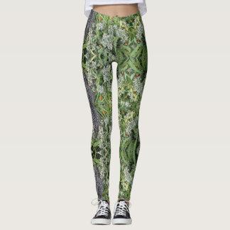 Pantalon de yoga de Geo-Fougère Leggings