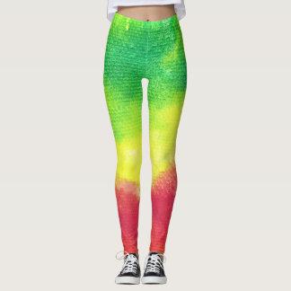 Pantalon de yoga de guêtres de texture leggings