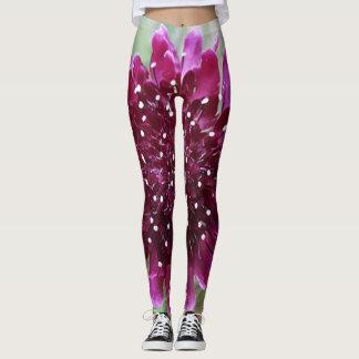 Pantalon magenta personnalisable de Guêtre-Yoga de Leggings