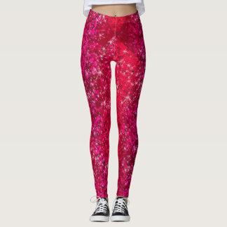 Pantalon scintillant de yoga de mode de Bling de Leggings