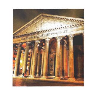 Panthéon à Rome Bloc-note