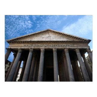 Panthéon à Rome Carte Postale